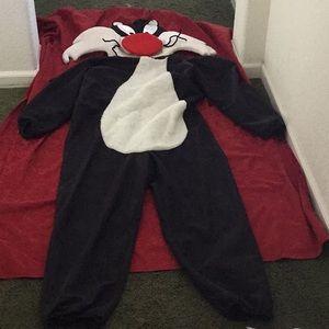 Vintage Looney Tunes Sylvester Costume